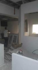 במהלך עבודות גבס מקיפות תקרות וקירות גבס