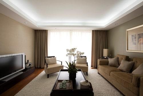 עיצובים בגבס בסלון