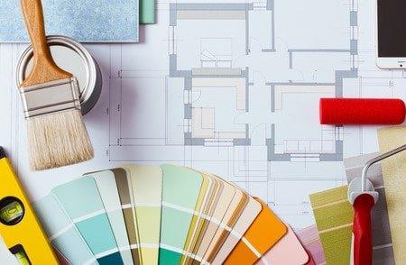בחירת צבעים לבית בצביעת דירה