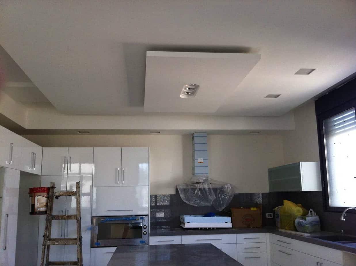 עבודות גבס בדירה חדשה