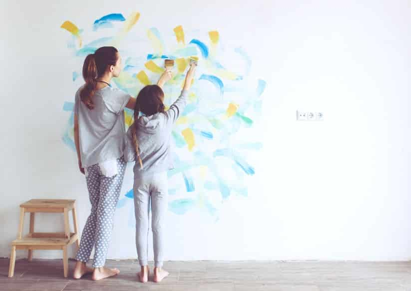 צביעת חדר
