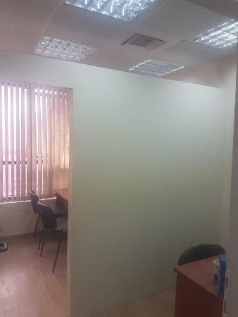בניית מחיצת קיר גבס